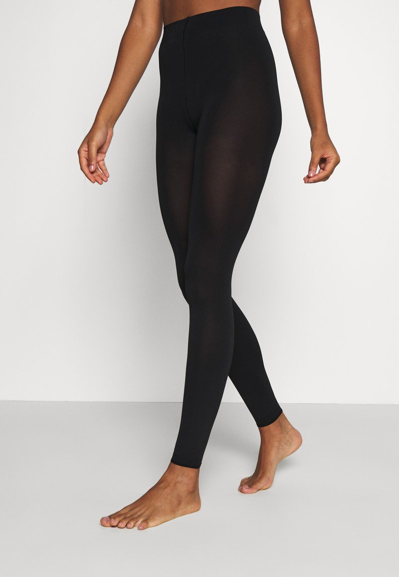 FALKE - 2 PACK - Leggings - Stockings - black