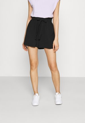 ONLLAVENDER PAPERBAG - Shorts - black
