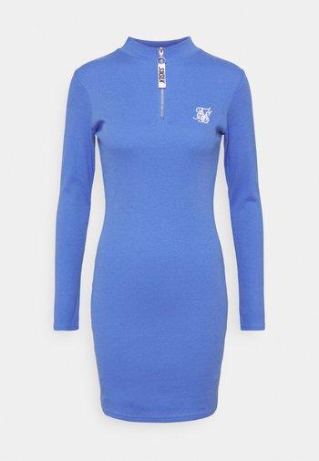 VELOCITY BODYCON DRESS - Jumper dress - blue
