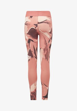 ALPHASKIN AEROREADY PRINTED LEGGINGS - Leggings - pink