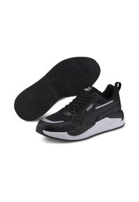 Puma - X-RAY 2 SQUARE - Trainers - black-black-white - 2
