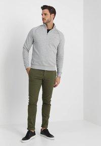 Farah - JIM ZIP - Sweatshirts - light grey - 1