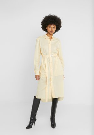 DRESS - Shirt dress - vanilla