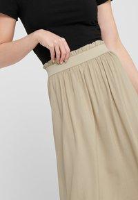 ONLY - Pleated skirt - white pepper - 3