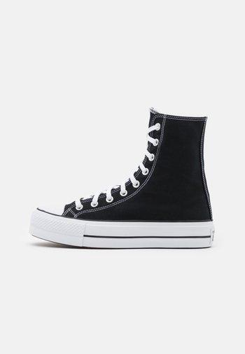 CHUCK TAYLOR ALL STAR LIFT XTRAHI - Zapatillas altas - black/white/black