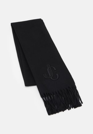 SCARF EMBROIDERY - Šála - black