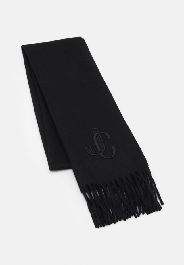 SCARF EMBROIDERY - Huivi - black
