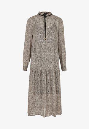 TRENDIGES MIT MINIMALPRINT - Maxi dress - grau
