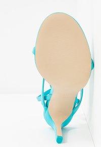 Call it Spring - ZELDAA - Sandály na vysokém podpatku - bright blue - 6