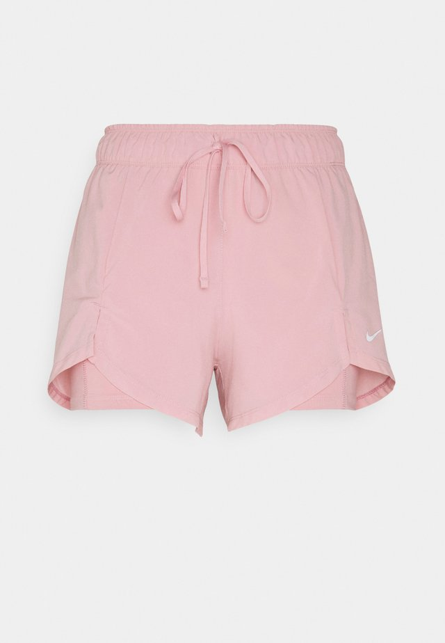 Sports shorts - pink glaze/white
