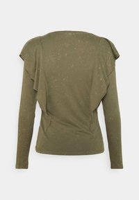 ONLY - ONLLUCILLA LIFE FRILL - Long sleeved top - kalamata - 1