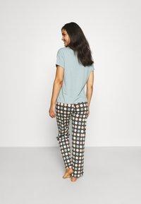 Marks & Spencer London - SPOT  - Pyjamas - aqua mix - 2
