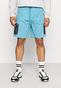 adidas Originals - UNISEX - Shorts - hazy blue - 0
