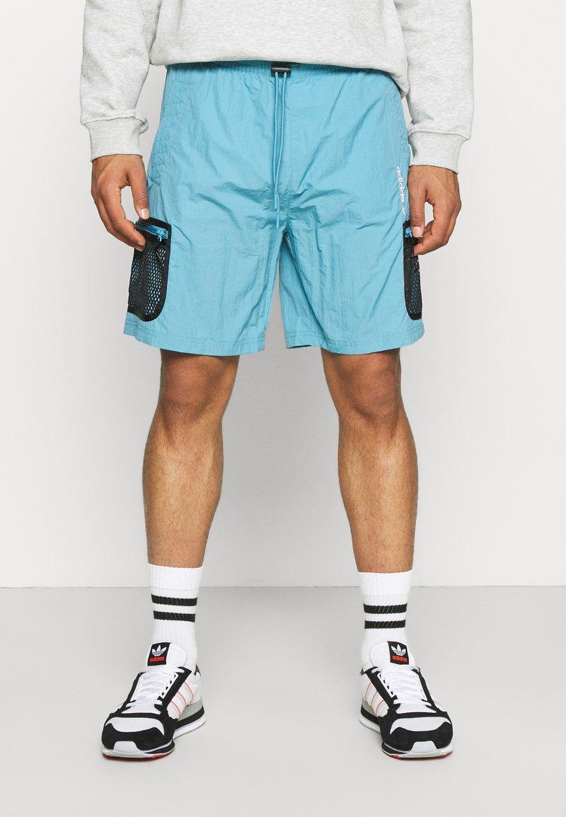 adidas Originals - UNISEX - Shorts - hazy blue