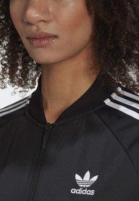adidas Originals - RACK TOP - Sweatshirt - black - 5