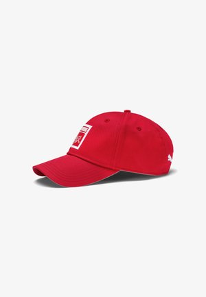 SUISSE DNA - Cap - puma red
