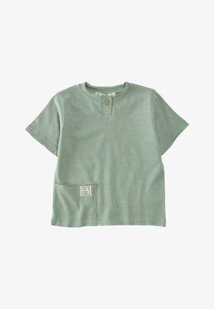 Basic T-shirt - metallic green