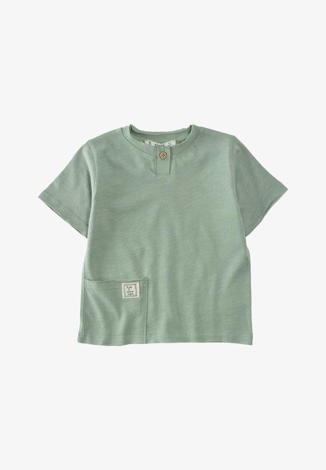 T-shirt - bas - metallic green