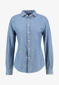 Polo Ralph Lauren - CHAMBRAY  - Button-down blouse - cobalt - 4