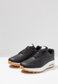Nike Golf - AIR MAX 1 G - Golfskor - black/light brown - 2