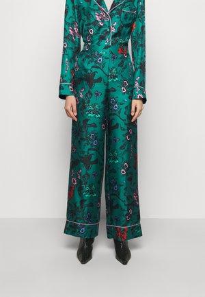 LETICIA - Bukse - multi/emerald