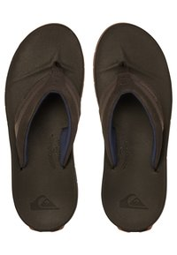 Quiksilver - T-bar sandals - brown/brown/brown - 1