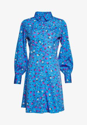 FLOWER  - Skjortekjole - blue