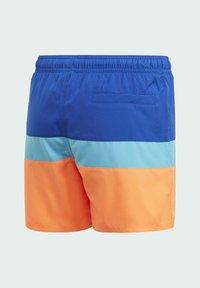 adidas Performance - COLORBLOCK SWIM SHORTS - Swimming shorts - blue - 1