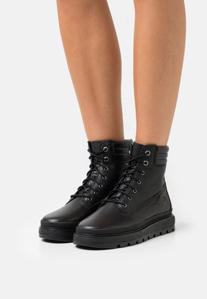 RAY CITY 6 BOOT WP - Lace-up ankle boots - black