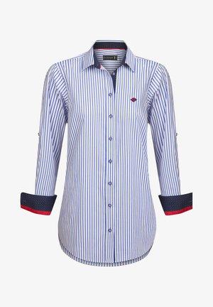 Button-down blouse - royal-blue