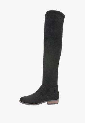 FOREVER COMFORT®  - Kozačky nad kolena - black