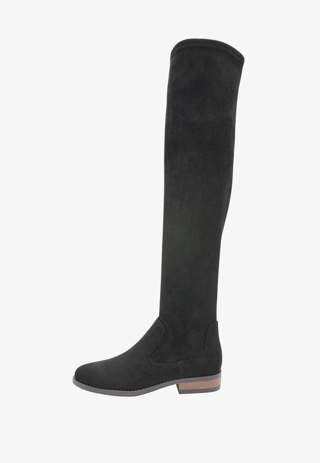 FOREVER COMFORT®  - Overknee laarzen - black