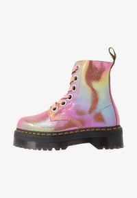 Dr. Martens - MOLLY - Botines con plataforma - pink iridescent - 1