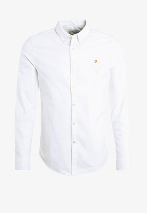 BREWER SLIM FIT - Skjorta - white