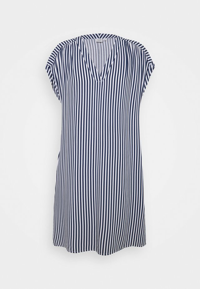 DRESS - Sukienka letnia - blue/white