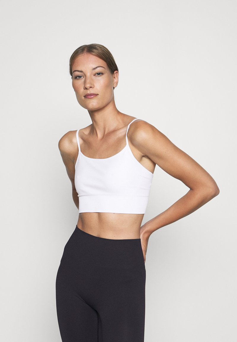 ARKET - Light support sports bra - white light
