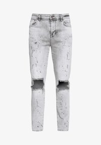 SIKSILK - BUST KNEE RIOT - Jeans Skinny Fit - washed grey - 3