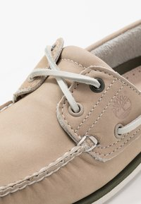 Timberland - CLASSIC BOAT - Scarpe da barca - light taupe - 5