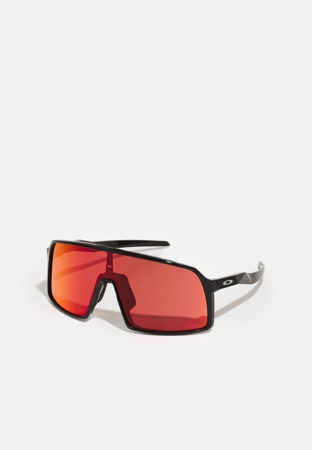 SUTRO UNISEX - Okulary sportowe - polished black