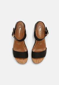 Tamaris - Platform sandals - black - 4
