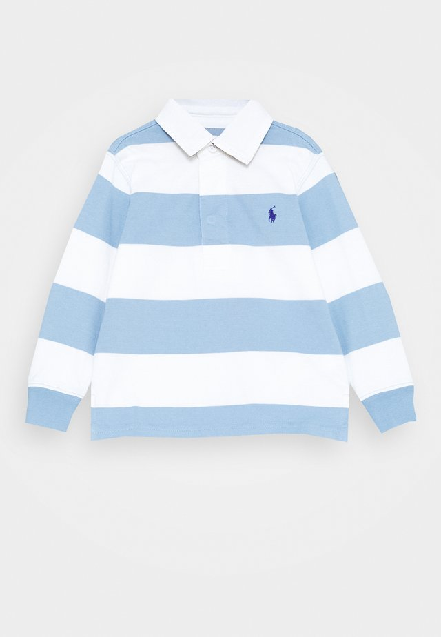 RUGBY - Polo - chambray blue