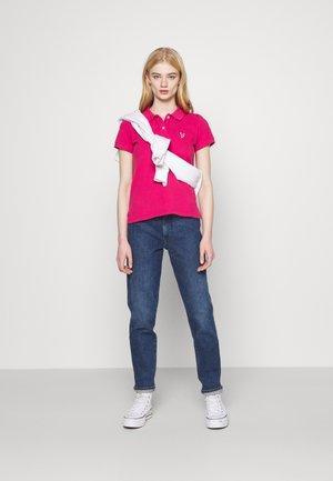 SOLIDS - Koszulka polo - pink