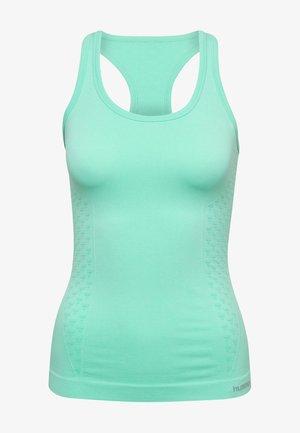 Sportshirt - ice green melange