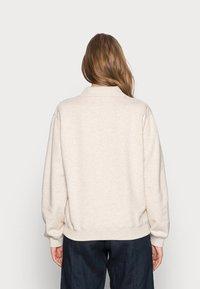 Samsøe Samsøe - ELLI POLO  - Sweatshirt - whisper white - 2