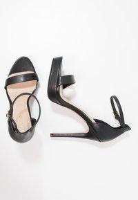 ALDO - MADALENE - Korolliset sandaalit - black - 1