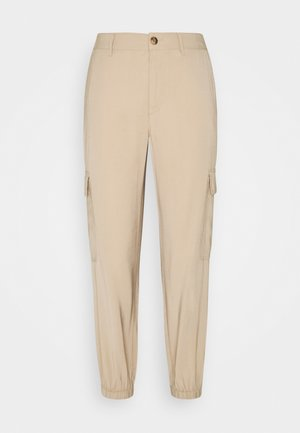 ONLARIS LIFE PANT - Cargo trousers - beige