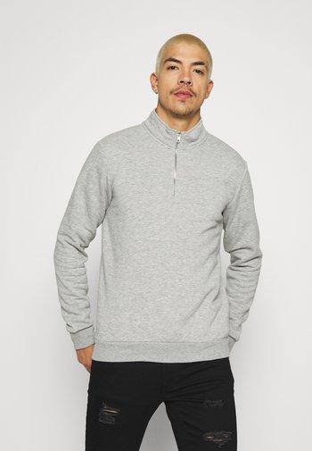 ONSCERES LIFE HALF ZIP - Sweatshirt - light grey melange