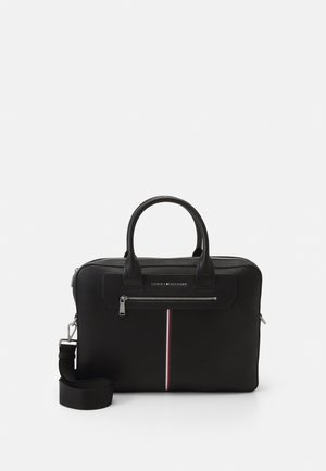 DOWNTOWN SUPER SLIM COMP BAG - Portafolios - black