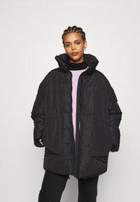 Monki - BEA - Zimní bunda - black dark - 0