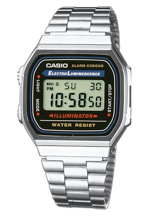 Digital watch - silber